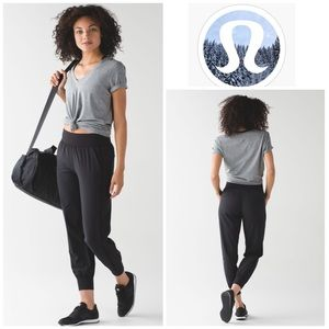 Lululemon Sweat To Street Jogger in Black